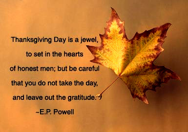 Thanksgiving Quotes For Family and Friends