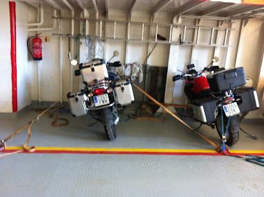 Y por último el ferry que nos llevará de Gryllefjord a Andenes. Final de nuestro viaje.