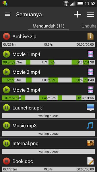 Advanced Download Manager Aplikasi Percepat download di Android