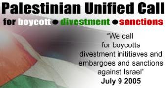 BDS - BOICOTE, DESINVESTIMENTO E SANÇÕES PARA ISRAEL