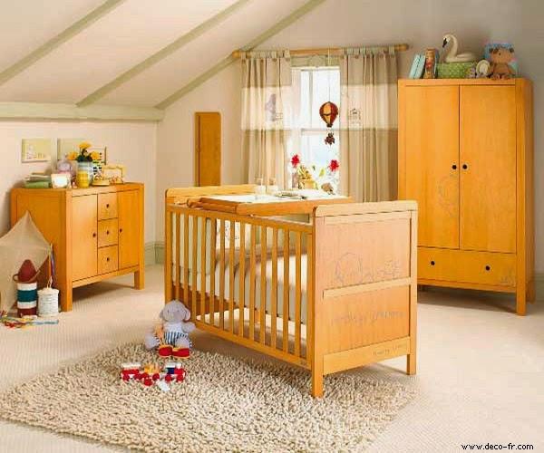 Une jolie image chambre de bébé garçon