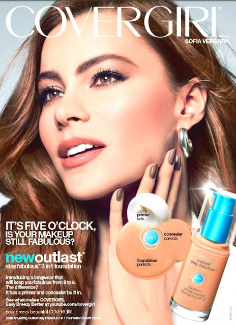 Sofia Vergara Covergirl Outlast Stay Fabulous 3 in 1 Foundation