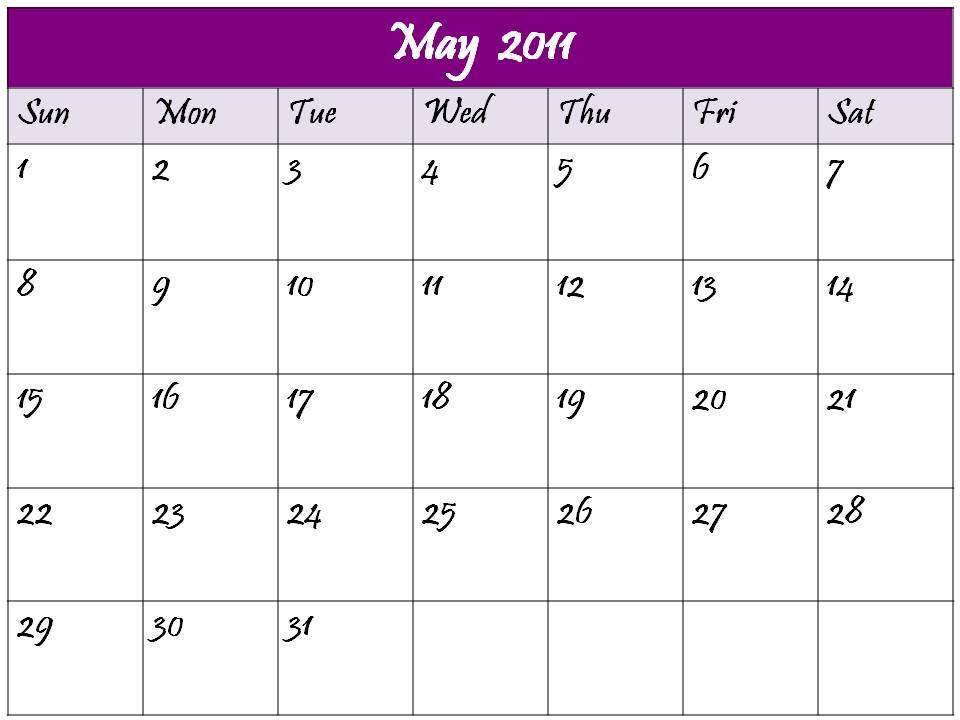 2011 calendar may and june. may 2011 calendar template.