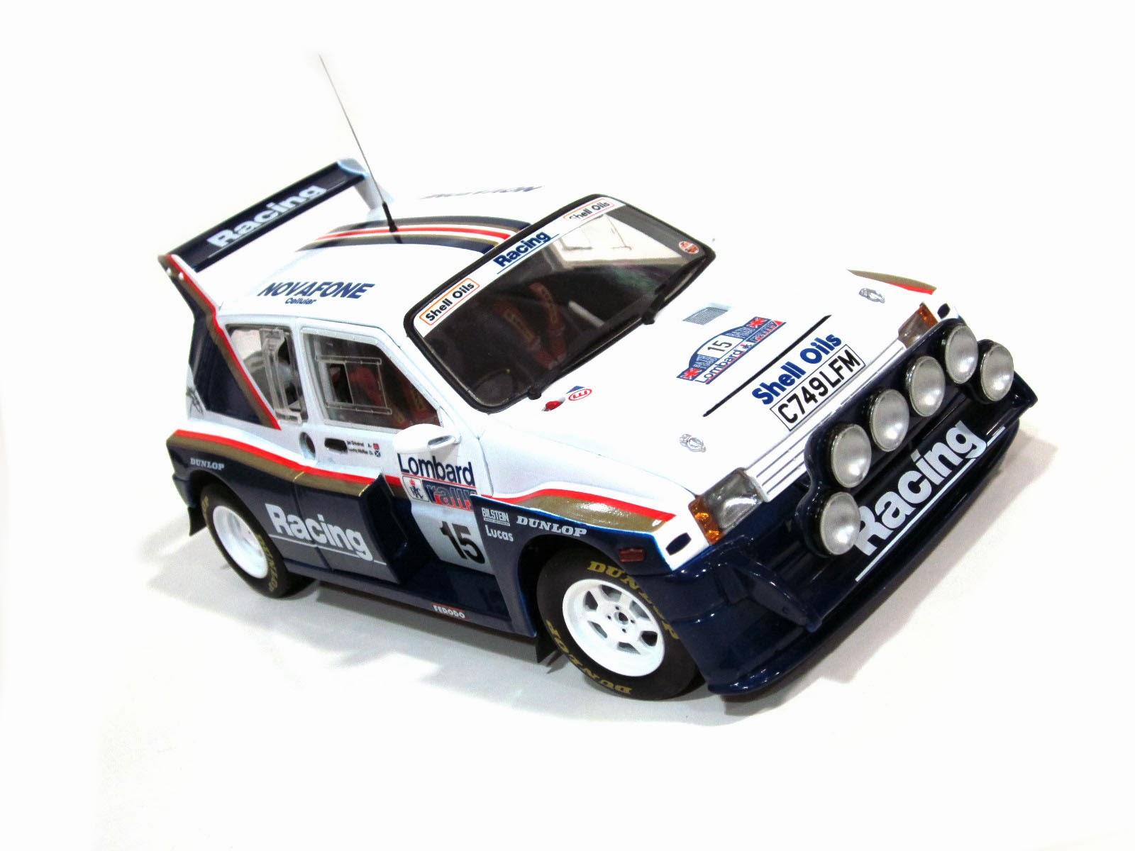 MG Metro 6R4 - RAC Rallye 1986 - Jimmy McRae & Ian Grindrod '86 - SunStar