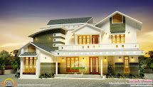 2714 Sq-ft Modern House Exterior - Kerala Home Design And