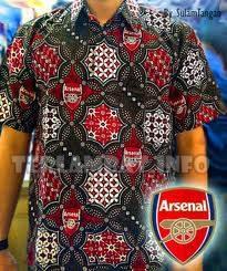 Batik Bola Arsenal
