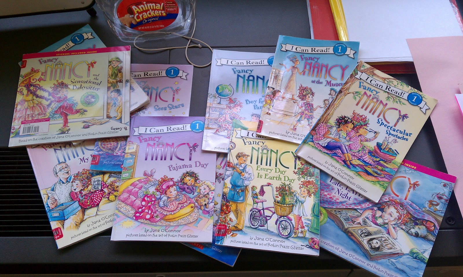 i loved them so much and overly acted so excited to read them to my students that i had a girl actually go as fancy nancy for halloween - Fancy Nancy Halloween