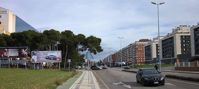 Entrando a Huesca
