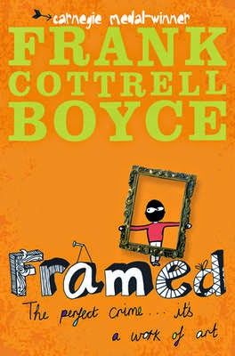 http://www.amazon.co.uk/Framed-Frank-Cottrell-Boyce/dp/0330452924
