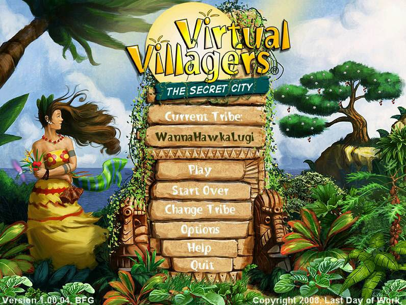 Virtual Villagers: A New Home > Free Download Game for PC