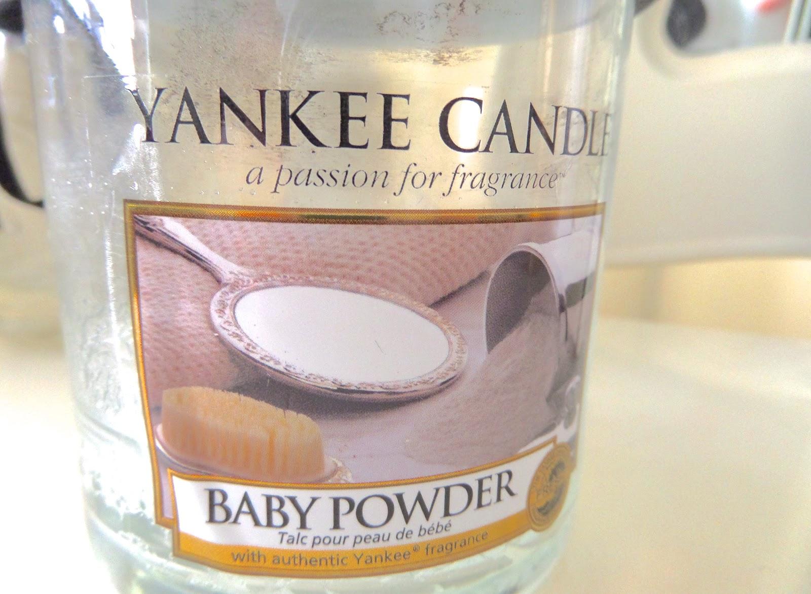 Yankee Candle Baby Powder