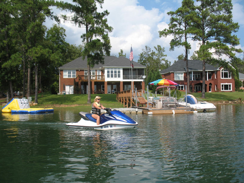 lake murray a best lake for living and boating