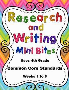 http://www.teacherspayteachers.com/Product/4th-Grade-Daily-ELA-Review-Research-and-Writing-Mini-Bites-Weeks-1-to-8-873333