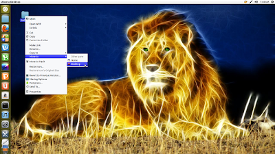 Mac OS X Montain Lion theme on Ubuntu 12.10