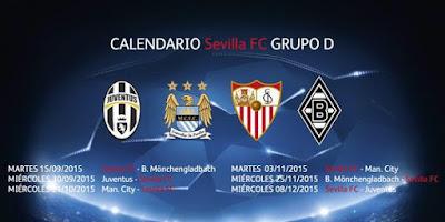 Grupo D Champions Sevilla