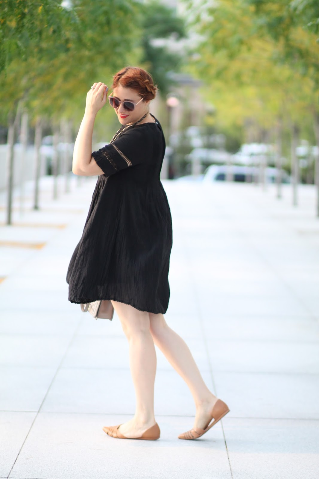 aritzia, black, sonore, dress