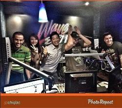 Tim Tayag & Miguel @ Wave 89.1