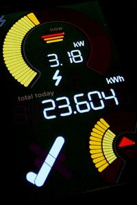 Energiankulutuksen seurantanäyttö