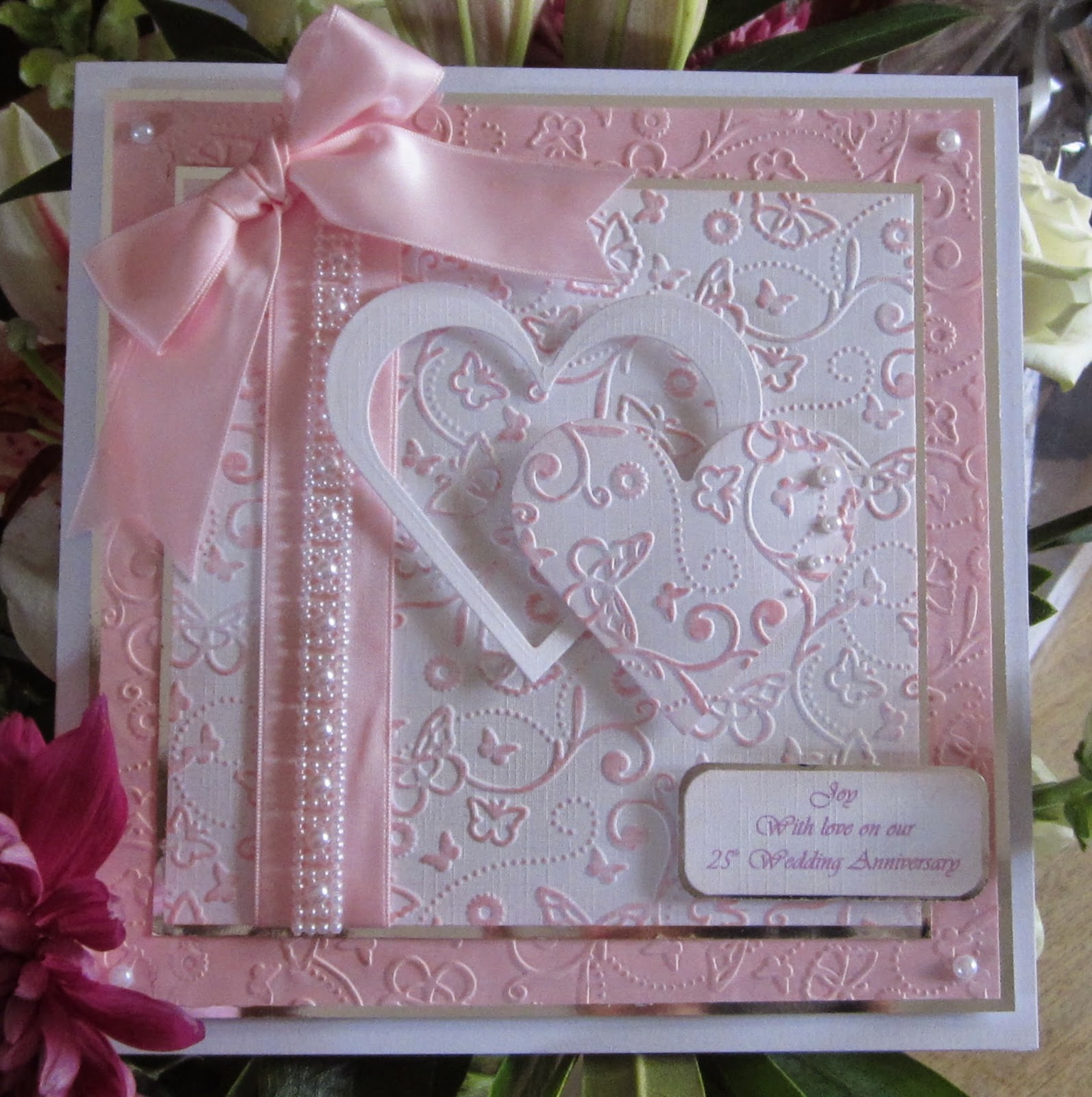 Floral fantasies more anniversary cards