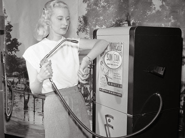 Автомат авто-загара, 1949 г.