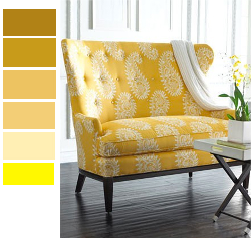 Glitz Bliss Decorating with Colors Hello Yellow