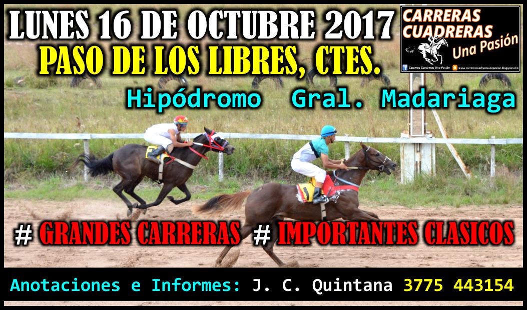 P. DE LOS LIBRES - 16.10.2017