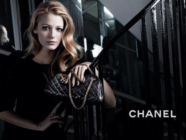 blake lively chanel mademoiselle handbags. Blake Lively: 2 More Images