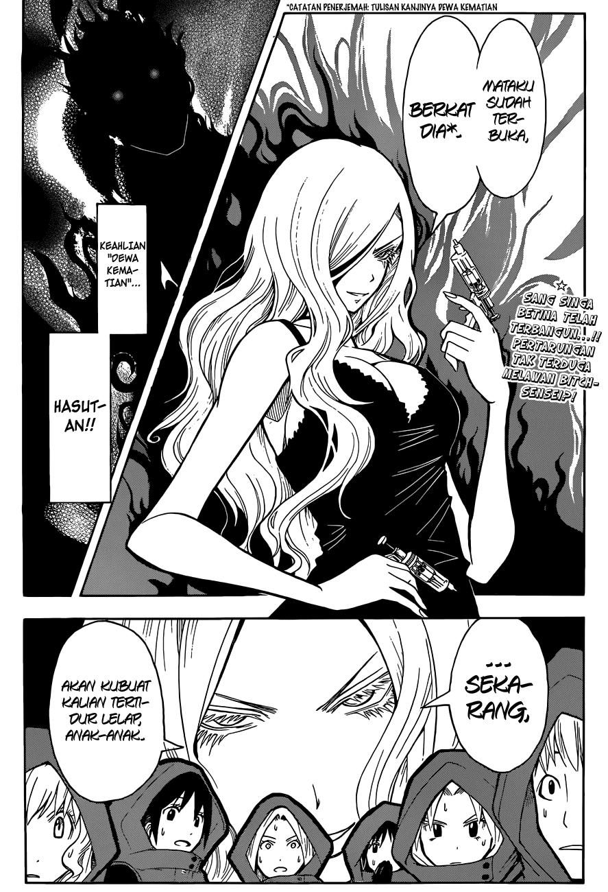 Komik assassination classroom 103 - dewa kematian jam ke 3 104 Indonesia assassination classroom 103 - dewa kematian jam ke 3 Terbaru 18|Baca Manga Komik Indonesia|Mangacan
