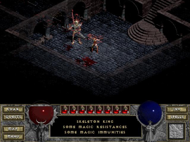 Diablowme Diablo 1 Quest The Curse Of King Leoric