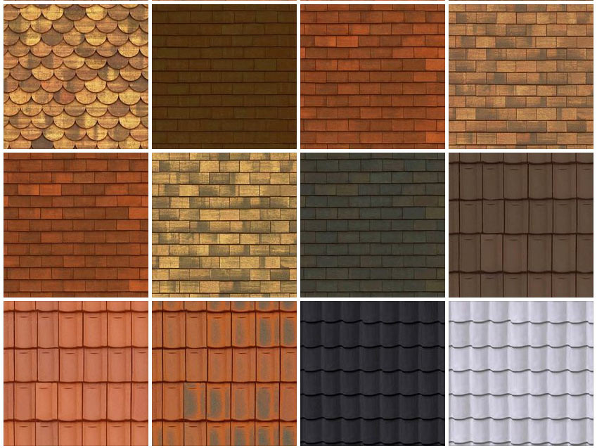 Sketchup Texture Texture Roofs