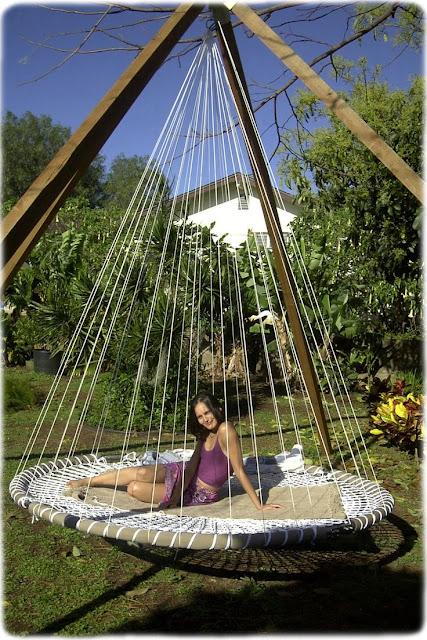 trampoline balancelle