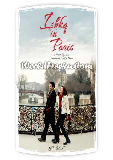 Poster Of Bollywood Movie Ishkq in Paris (2013) 300MB Compressed Small Size Pc Movie Free Download worldfree4u.com