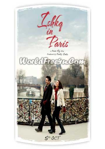 Poster Of Hindi Movie Ishkq in Paris (2013) Free Download Full New Hindi Movie Watch Online At worldfree4u.com