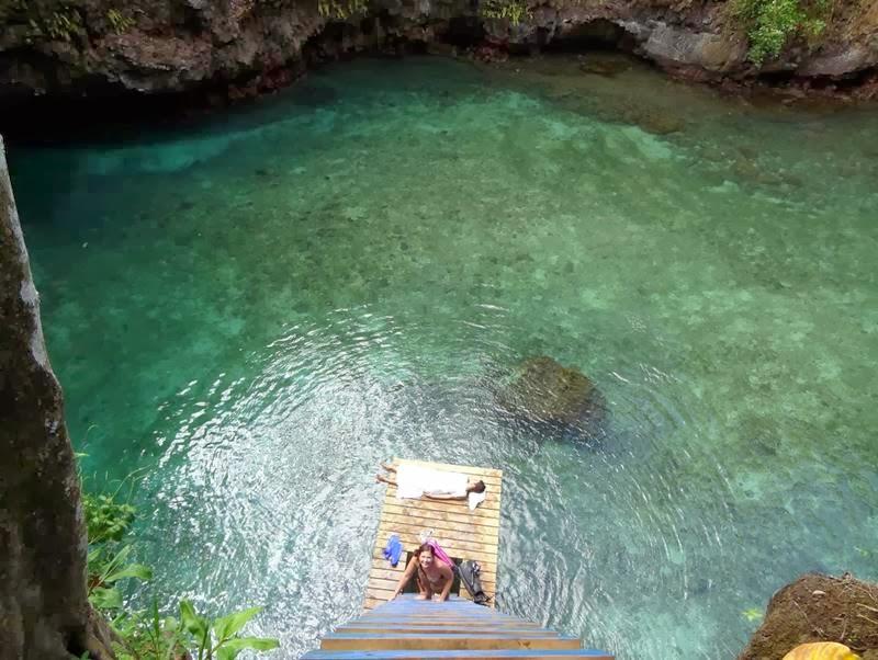 To Sua Ocean Trench in Samoa