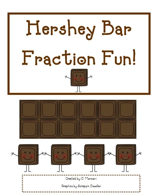 Hershey Bar Fraction Worksheet – Fraction Bar Worksheet