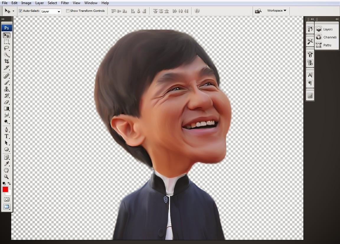 Cara membuat Karikatur dengan Photoshop
