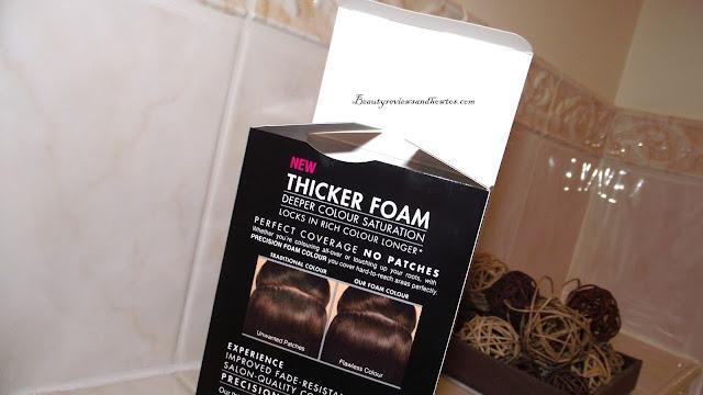 John Frieda Precision Foam Colour Brilliant Brunette Review - 5N Natural Medium Brown