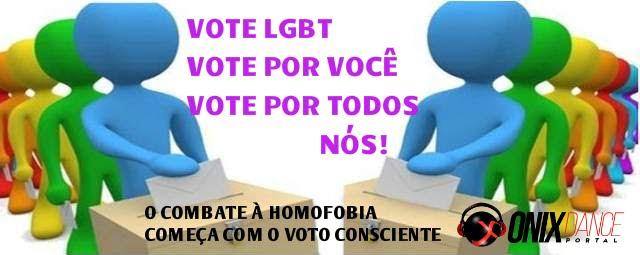VOTE CONTRA A HOMOFOBIA