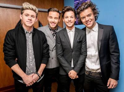 One Direction se presentó en el programa Jimmy Kimmel Live!