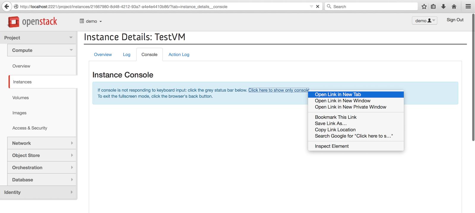 Openstack cloud openstack juno devstack installation for Openstack consul