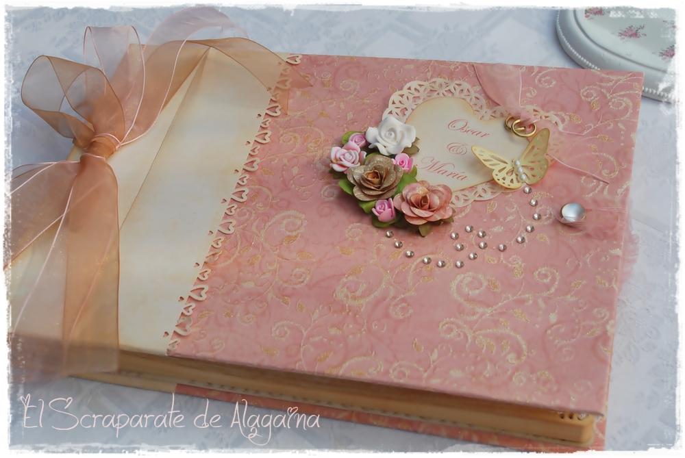 El scraparate de alagaina libro de firmas para una boda - Cosas para preparar una boda ...