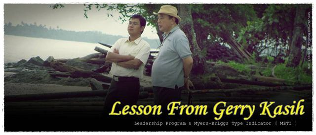 LESSON FROM GERRY KASIH