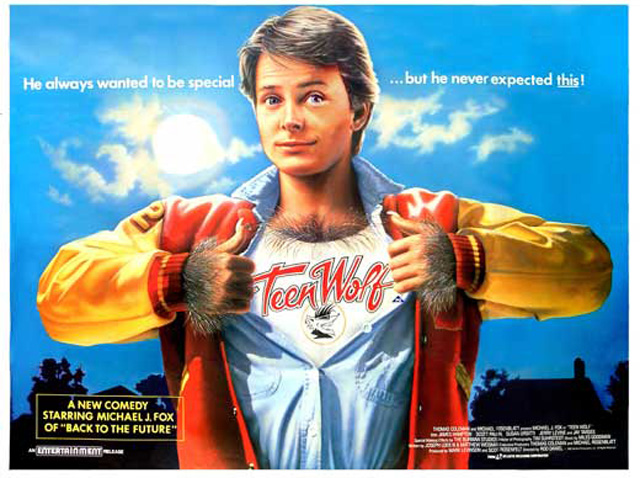 1985 - TEEN WOLF: The Other Michael J Fox Movie | Warped ...