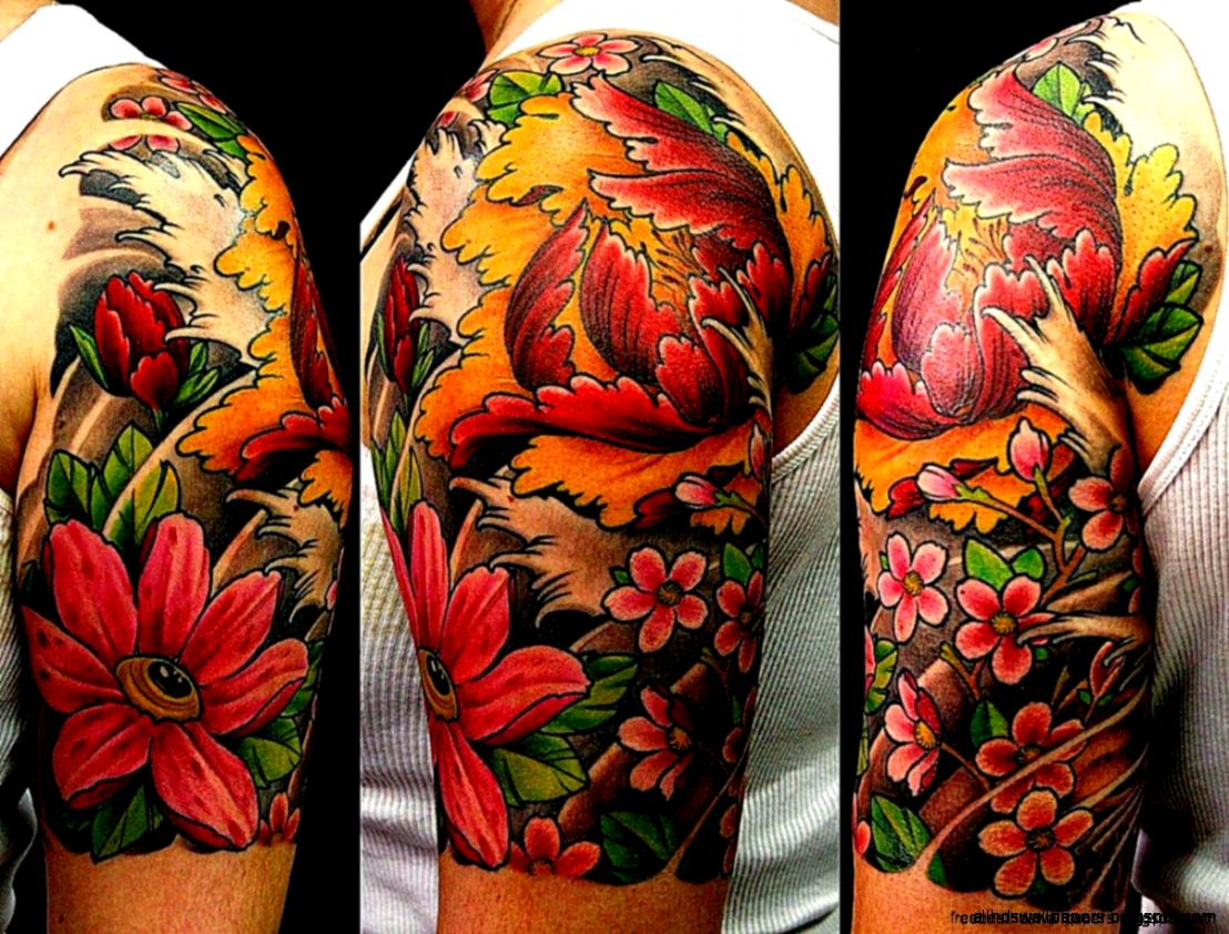 Vibrant Color Tattoo  Free Best Hd Wallpapers   Wallpaper Zone