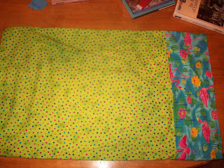Homemade pillow case