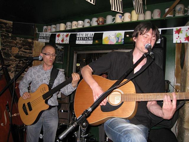 Daonet rock breton en acoustique
