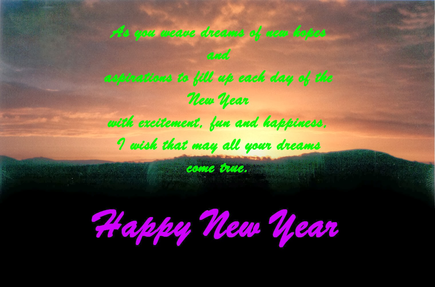 New Year Wishes For Friends 3 Best New Year Wishes