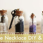 Bottle Necklace DIY & GIVEAWAY(closed)
