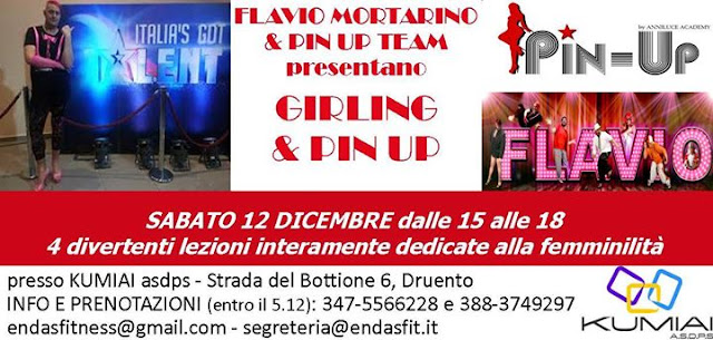 Girling e Pin Up, 12 dicembre 2015 a Druento, Torino