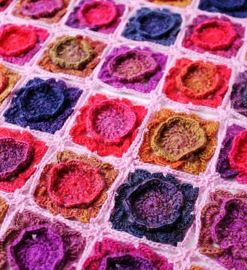 Primrose Blanket - Free Pattern